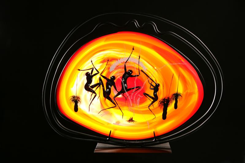 dancers platter